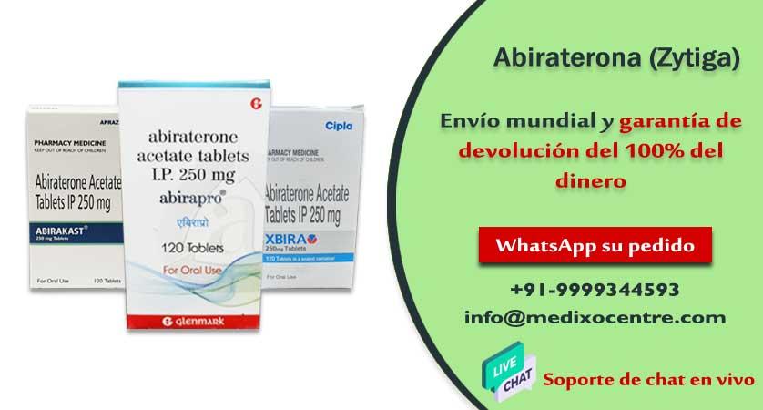 zytiga abiraterona precio mexico